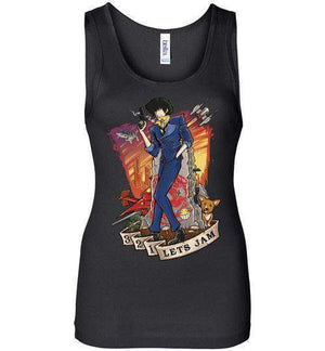 3,2,1 Let's Jam-Anime Women's Tank Tops-TrulyEpic|Threadiverse