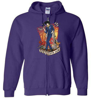 3,2,1 Let's Jam-Anime Zipper Hoodies-TrulyEpic|Threadiverse