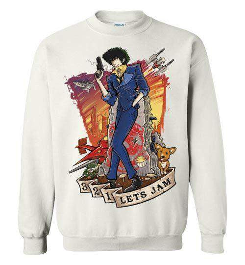 3,2,1 Let's Jam-Anime Sweatshirts-TrulyEpic|Threadiverse