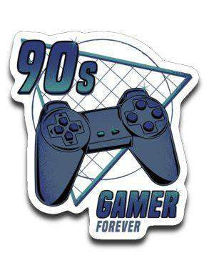 90s gamer (Play)-Decals-Typhoonic Artwork|Threadiverse