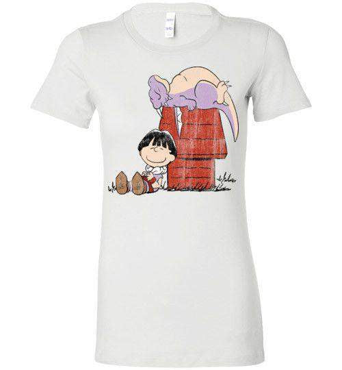 A Boy And His Dragon-Anime Women's Shirts-Ddjvigo|Threadiverse