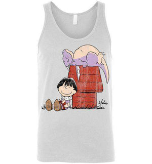 A Boy And His Dragon-Anime Tank Tops-Ddjvigo|Threadiverse