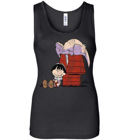 A Boy And His Dragon-Anime Women's Tank Tops-Ddjvigo|Threadiverse