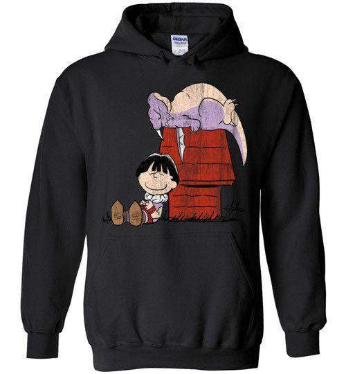 A Boy And His Dragon-Anime Zipper Hoodies-Ddjvigo|Threadiverse
