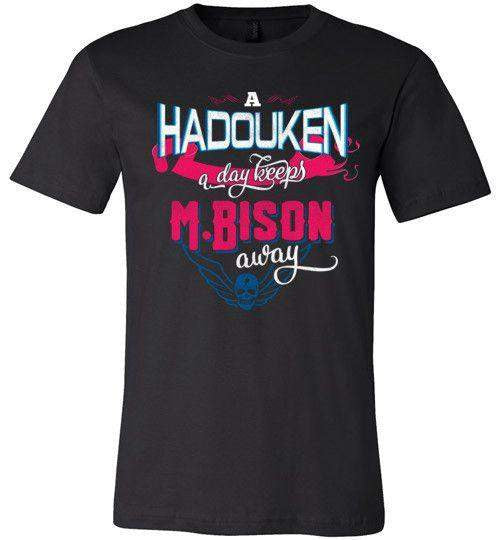 A Hadouken A Day-Gaming Shirts-Manoystee|Threadiverse