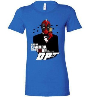 Agent Deadpool-Comics Women's Shirts-Demonigote|Threadiverse