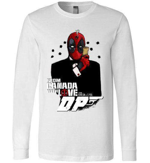 Agent Deadpool-Comics Long Sleeves-Demonigote|Threadiverse