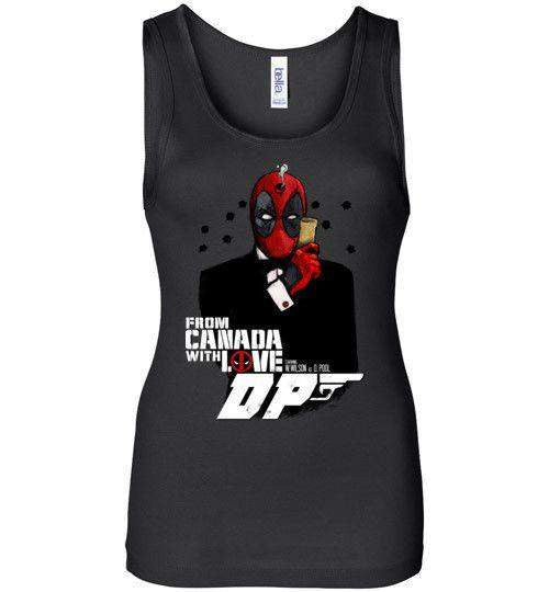 Agent Deadpool-Comics Women's Tank Tops-Demonigote|Threadiverse