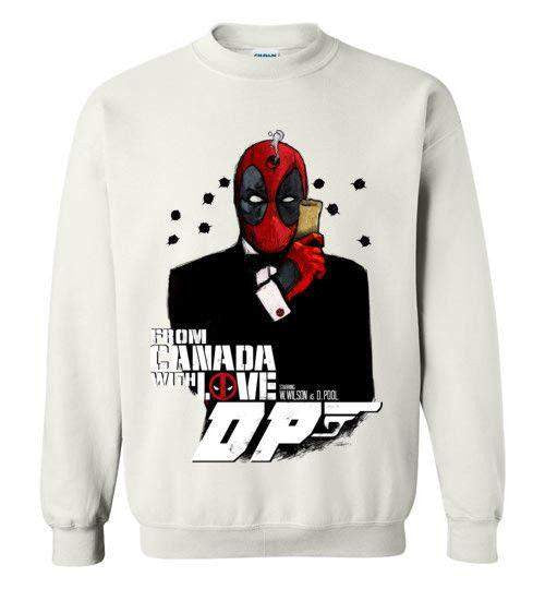 Agent Deadpool-Comics Sweatshirts-Demonigote|Threadiverse