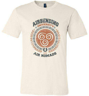 Airbending University-Animation Shirts-Typhoonic Artwork|Threadiverse
