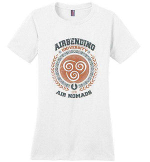 Airbending University-Animation Perfect Weight Shirts-Typhoonic Artwork|Threadiverse