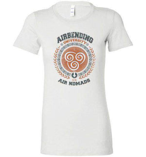 Airbending University-Animation Women's Shirts-Typhoonic Artwork|Threadiverse