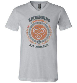 Airbending University-Animation V-Necks-Typhoonic Artwork|Threadiverse