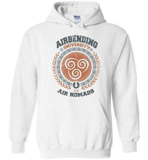 Airbending University-Animation Hoodies-Typhoonic Artwork|Threadiverse