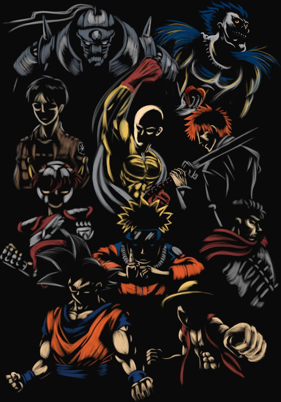 Anime Heroes-Anime Shirts-Legendary Phoenix Tees|Threadiverse