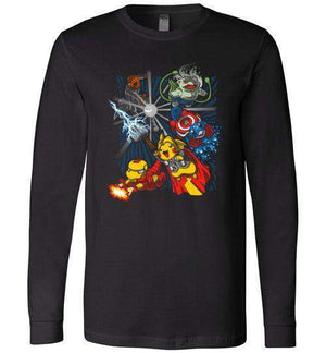 Avengermons-Gaming Long Sleeves-Punksthetic Designs|Threadiverse