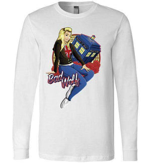 Bad Wolf-Pop Culture Long Sleeves-TrulyEpic|Threadiverse