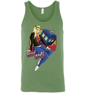 Bad Wolf-Pop Culture Tank Tops-TrulyEpic|Threadiverse