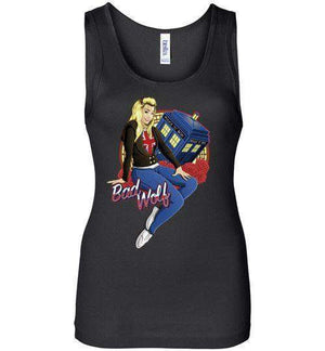 Bad Wolf-Pop Culture Women's Tank Tops-TrulyEpic|Threadiverse