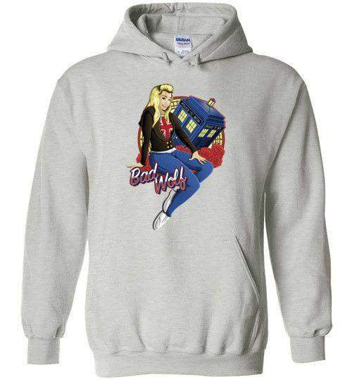 Bad Wolf-Pop Culture Hoodies-TrulyEpic|Threadiverse