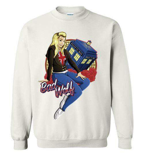 Bad Wolf-Pop Culture Sweatshirts-TrulyEpic|Threadiverse