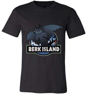 Berk Island-Animation Shirts-Kempo24|Threadiverse