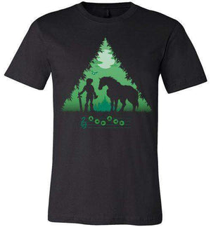 Calling Epona-Gaming Shirts-DDjvigo|Threadiverse