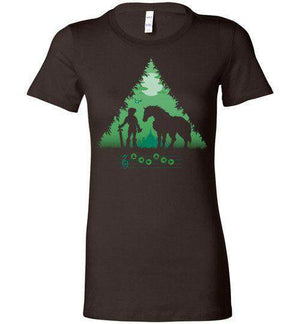 Calling Epona-Gaming Women's Shirts-DDjvigo|Threadiverse