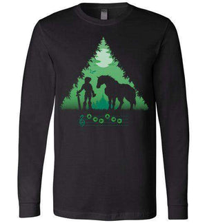 Calling Epona-Gaming Long Sleeves-DDjvigo|Threadiverse