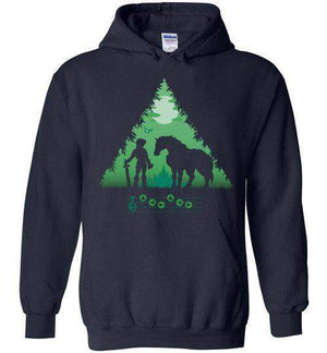 Calling Epona-Gaming Hoodies-DDjvigo|Threadiverse