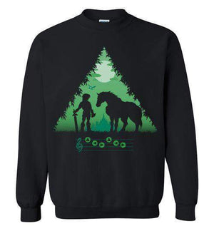 Calling Epona-Gaming Sweatshirts-DDjvigo|Threadiverse