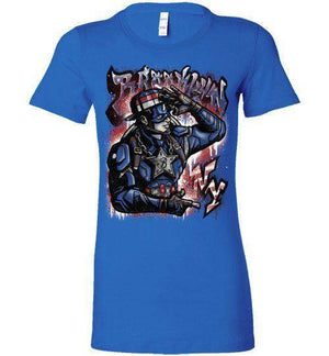Cap Brooklyn-Comics Women's Shirts-Punksthetic Designs|Threadiverse