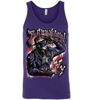 Cap Brooklyn-Comics Tank Tops-Punksthetic Designs|Threadiverse