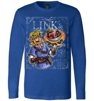 Chef Link-Gaming Long Sleeves-Punksthetic Designs|Threadiverse
