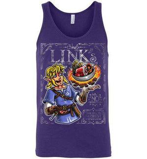 Chef Link-Gaming Tank Tops-Punksthetic Designs|Threadiverse