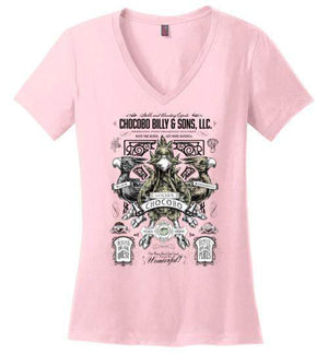 Chocobo Billy-Gaming Women's Perfect Weight V-Necks-Barrett Biggers|Threadiverse