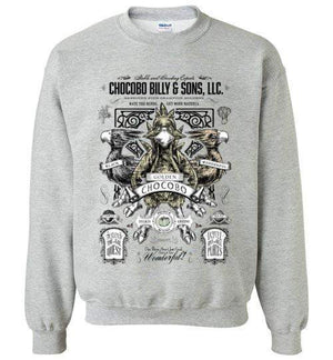 Chocobo Billy-Gaming Sweatshirts-Barrett Biggers|Threadiverse