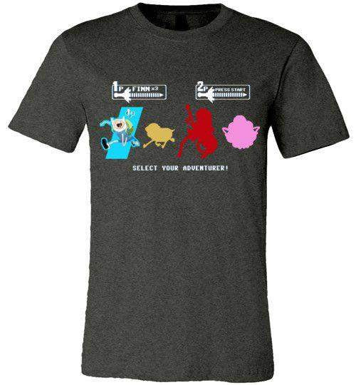 Choose Your Adventurer-Animation Shirts-Demonigote|Threadiverse