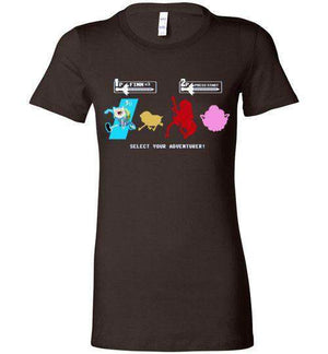 Choose Your Adventurer-Animation Women's Shirts-Demonigote|Threadiverse