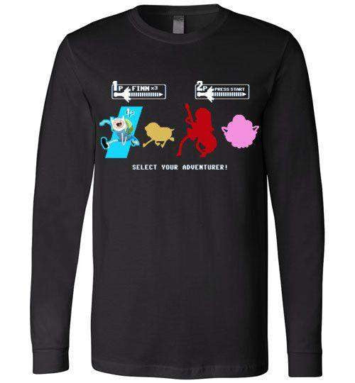 Choose Your Adventurer-Animation Long Sleeves-Demonigote|Threadiverse