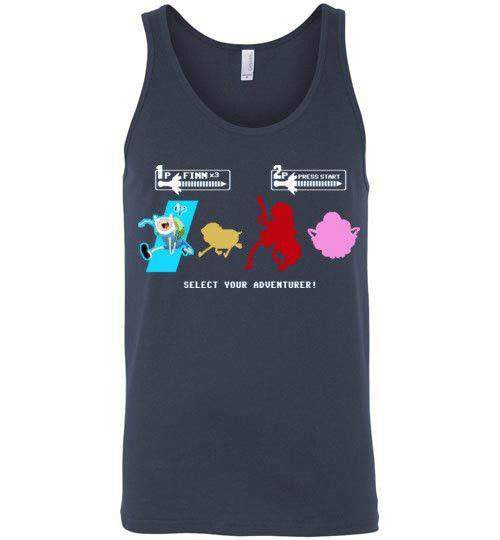 Choose Your Adventurer-Animation Tank Tops-Demonigote|Threadiverse