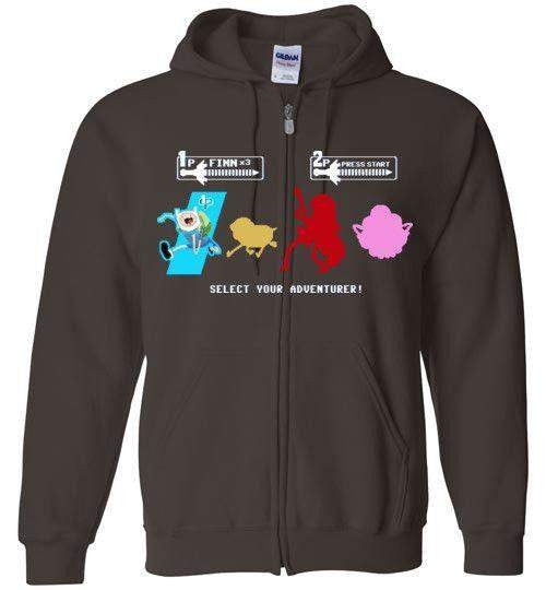 Choose Your Adventurer-Animation Hoodies-Demonigote|Threadiverse