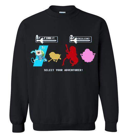 Choose Your Adventurer-Animation Sweatshirts-Demonigote|Threadiverse
