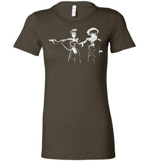 Cowboy Fiction-Anime Women's Shirts-Ddjvigo|Threadiverse