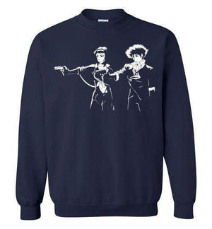Cowboy Fiction-Anime Sweatshirts-Ddjvigo|Threadiverse