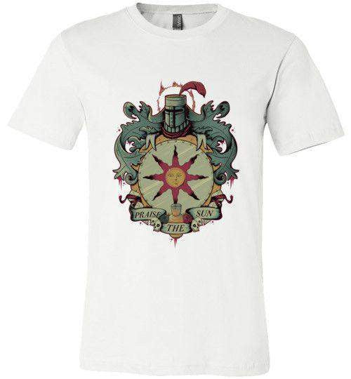 Crest Of Solaire-Gaming Shirts-Typhoonic Artwork|Threadiverse