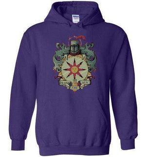 Crest Of Solaire-Gaming Hoodies-Typhoonic Artwork|Threadiverse