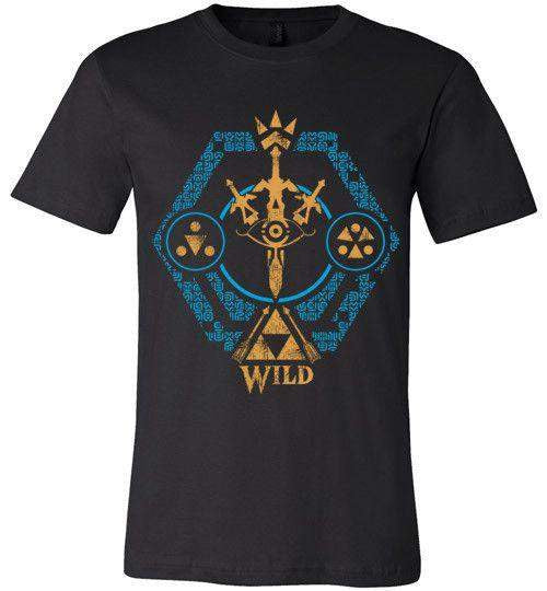 Crest Of The Wild-Gaming Shirts-Kempo24|Threadiverse