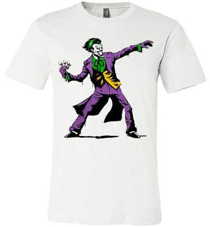 Crime Clown Banksy-Comics Shirts-DEMONIGOTE|Threadiverse