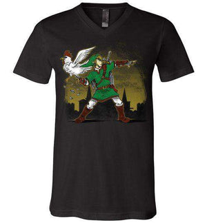 Cuckoo Thrower-Gaming V-Necks-Punksthetic Designs|Threadiverse